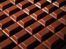 Chocolat. Macro of chocolate royalty free stock photo