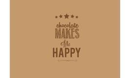 Chocolat illustration libre de droits