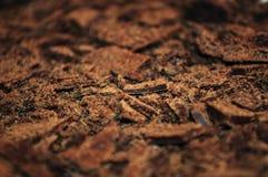 Chocolat aéré râpé Photographie stock libre de droits