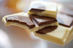 Chocolat au lait Photos stock