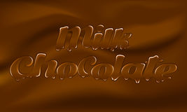 Chocolat au lait Photo stock