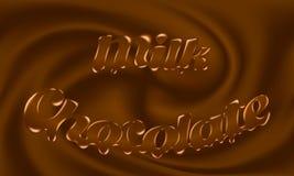 Chocolat au lait Photographie stock libre de droits