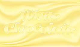 Chocolat blanc Photos libres de droits