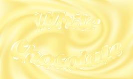 Chocolat blanc Images libres de droits