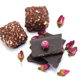 Chocolat, bonbons au chocolat pour la Saint-Valentin Image stock