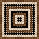 Chocolat brown pattern Royalty Free Stock Photography