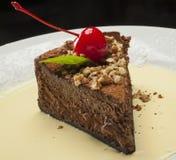 Chocolat cake Stock Images