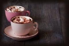 Chocolat chaud. image libre de droits