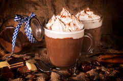 Chocolat chaud Images stock