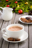 Chocolat chaud Photographie stock libre de droits