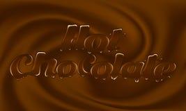 Chocolat chaud Photo stock