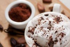 Boisson de chocolat images stock