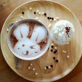 Chocolat chaud dans dimanche Photographie stock libre de droits