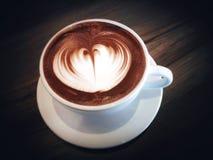 Chocolat chaud ou café Photos stock