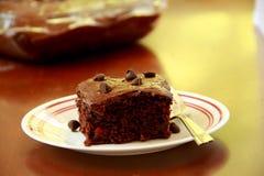 Chocolat Cherry Bars image stock