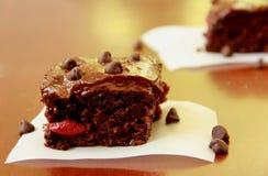 Chocolat Cherry Bars photos stock