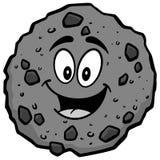 Chocolat Chip Cookie Mascot Illustration Photo libre de droits