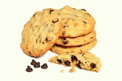 Chocolat Chip Cookies Photographie stock libre de droits