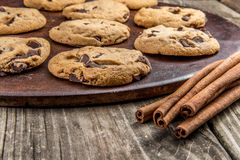 Chocolat Chip Cookies Photo libre de droits