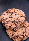 Chocolat Chip Cookies Images libres de droits