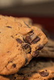 Chocolat Chip Cookies du plat 4 image libre de droits