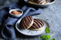 Chocolat Conchas - pains mexicains doux photo libre de droits