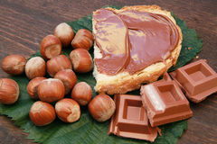 Chocolat cream Royalty Free Stock Images