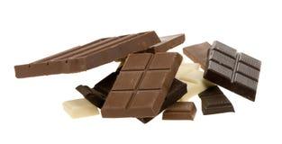 Chocolat délicieux photos stock