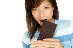 Chocolat délicieux Photographie stock