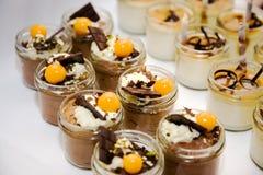 Chocolat d'Au de mousse Photos stock