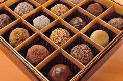 Chocolat dans le cadre Images libres de droits