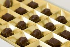 chocolat de cadre Photographie stock