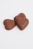 Chocolat de forme de coeur Photographie stock libre de droits