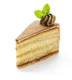 chocolat de gâteau Photographie stock
