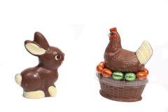 Chocolat de Pâques Photographie stock libre de droits