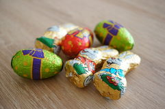 Chocolat de Pâques photo stock