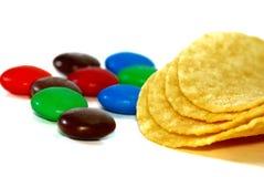chocolat de sucrerie image stock