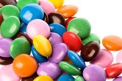 chocolat de sucreries coloré Images libres de droits