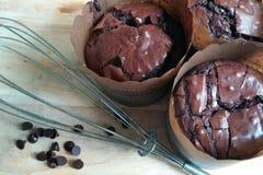 chocolat del au de la pasta de azúcar Fotografía de archivo