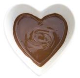 Chocolat du coeur I Images stock