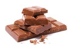 Chocolat du lait Photo libre de droits