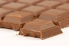 Chocolat du lait Images stock