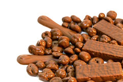 Chocolat du lait photo stock