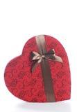 Chocolat et lettres du jour de Valentine Photographie stock