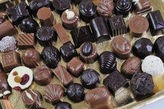 Chocolat et praline Image libre de droits