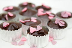 Chocolat fait maison Images stock
