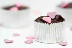 Chocolat fait maison Photos stock