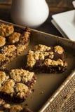 Chocolat fait maison Revel Brownie Bars photos stock