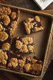 Chocolat fait maison Revel Brownie Bars images stock