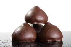 Chocolat foncé Photo stock